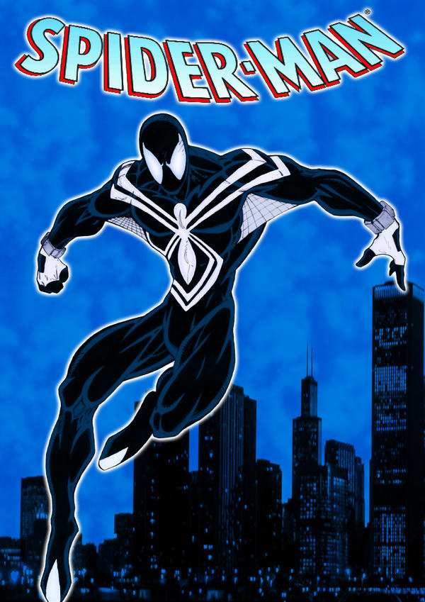 Spider-Man in Black by pascal-verhoef