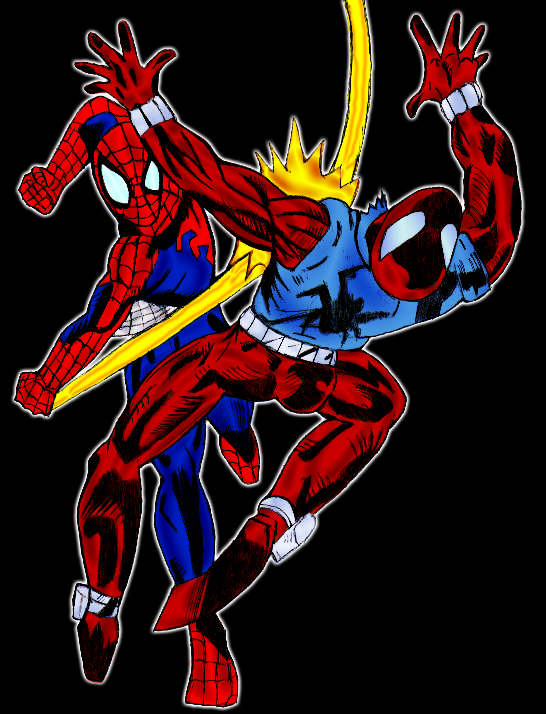 Spider-Man vs Scarlet Spider by pascal-verhoefScarlet Spider Vs Scarlet Spider