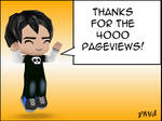 Thanks for the 4000 pageviews