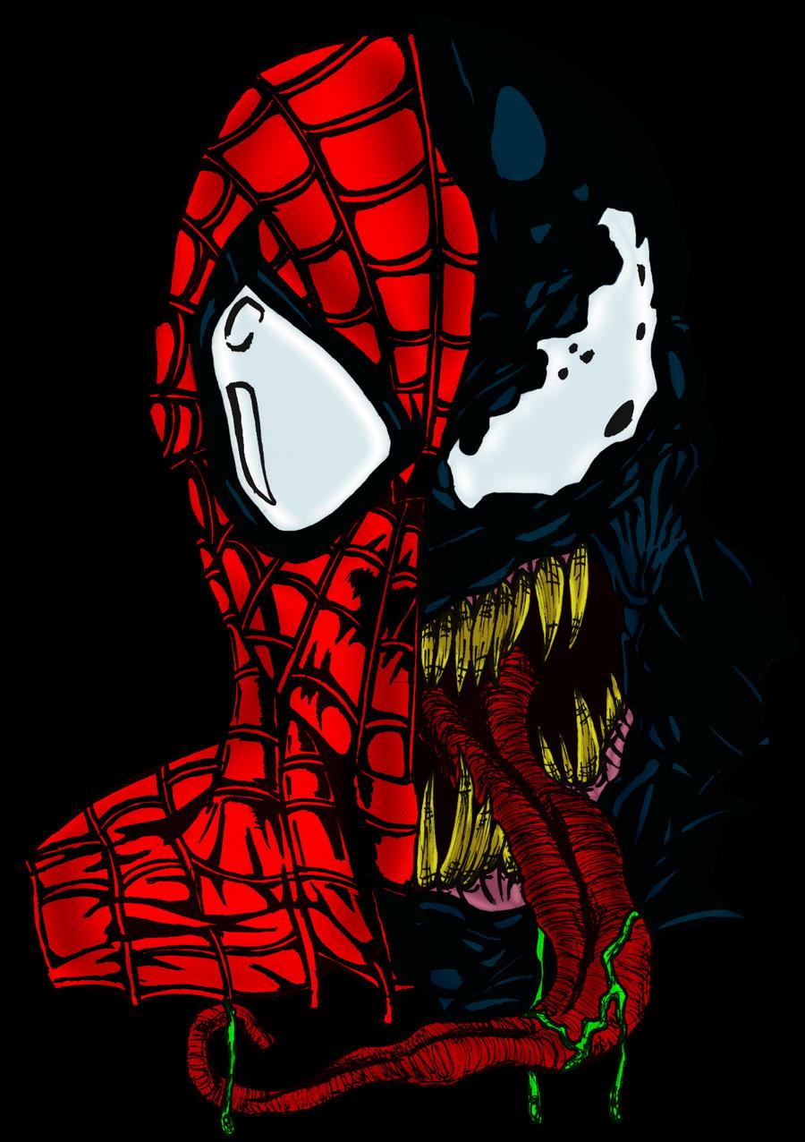 Venom - Spider-Man by pascal-verhoef