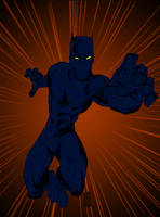 Black Panther Prowl by pascal-verhoef