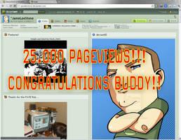 James Lee Stone 25K Pageviews