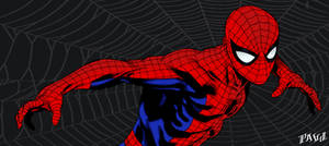 Spider-Man Panel - Colored