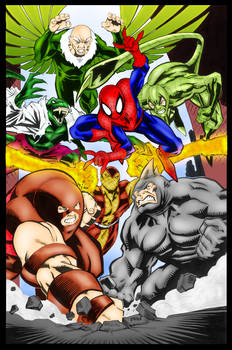 Spidey vs Sinister Six - McDaniel and Me