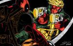 Deadpool vs Grifter