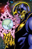 Thanos The Dark Titan by pascal-verhoef