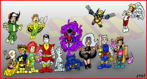 Mini X-Men - James Lee Stone and Me