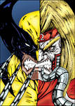 Wolverine / Omega Red - Darkartistdomain and me