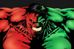 Red and Green Hulk - Tyndall and me