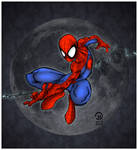 Spider-Man and Moon