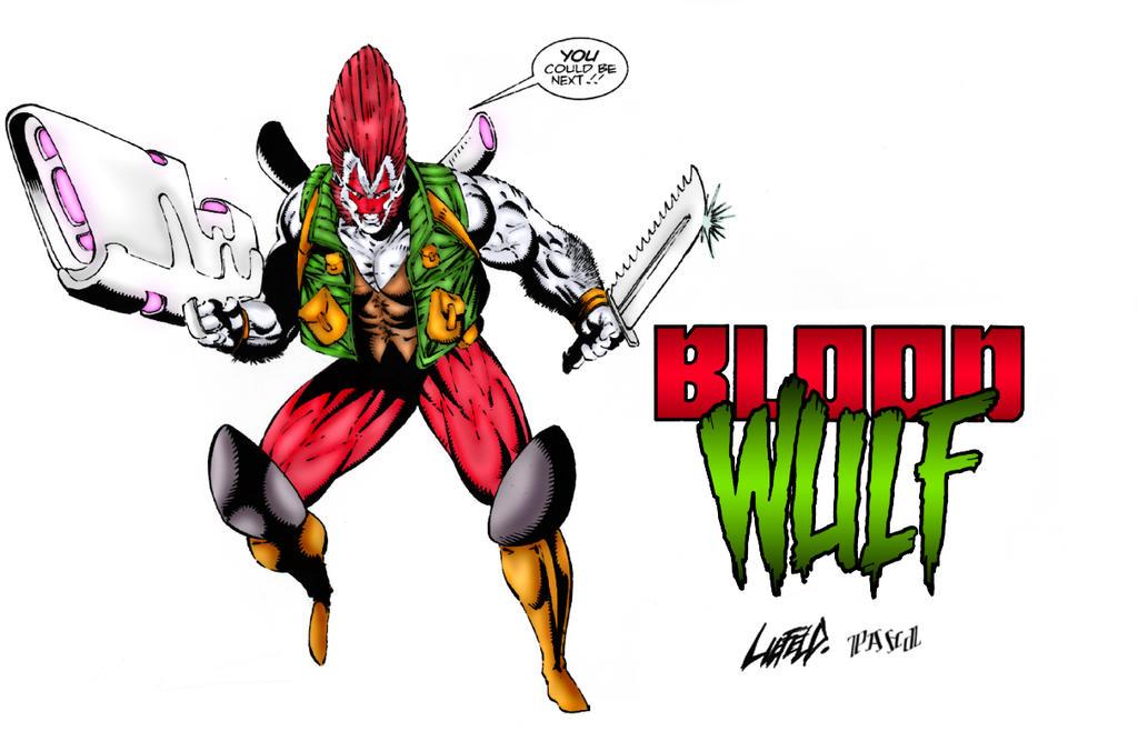 Bloodwulf, #1 of 4 (Comic Book) Paperback - amazon.com