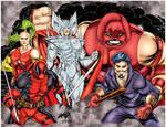 X-force Villains Rob Liefeld