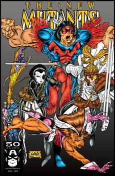 New Mutants 100 - Rob Liefeld, my colors