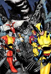 X-Men Samplecover - Sedat and me