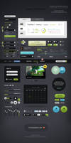 Futurico - Free User Interface Elements Pack