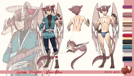 [CLOSED] Adoptable Auction - Lychee Dragon