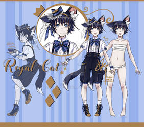 [Closed] Adoptable Auction - Royal Cat I