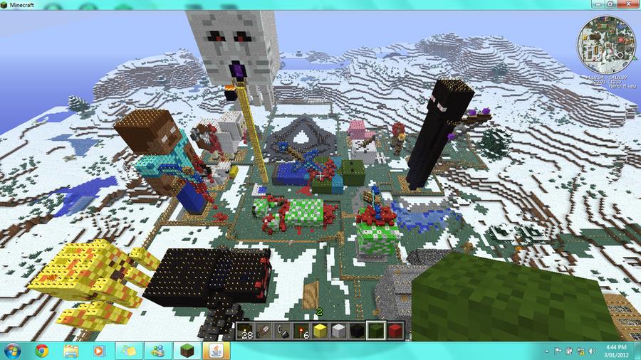 Minecraft Mobs by NeckCrowManSir on DeviantArt