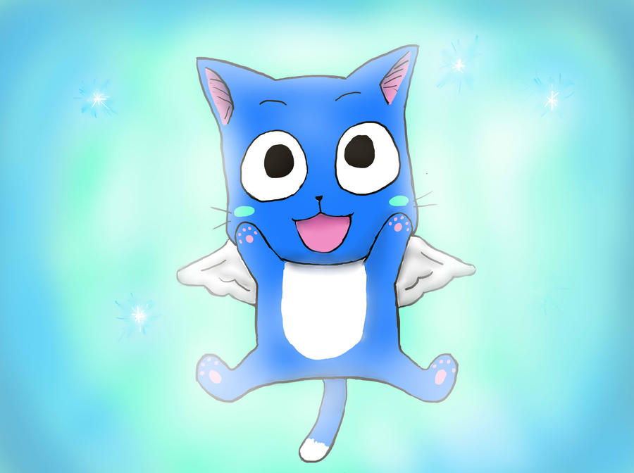 Fairytail happy by NeckCrowManSir on DeviantArt  Happy Fairy Tail Cute