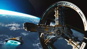 Starship 44 by Robin-Boer