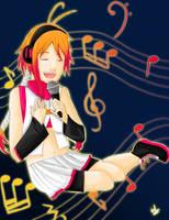 Vocaloid contest- Utau by kawaylulii