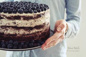 Blueberry cake ~ by MelissaBalkenohl