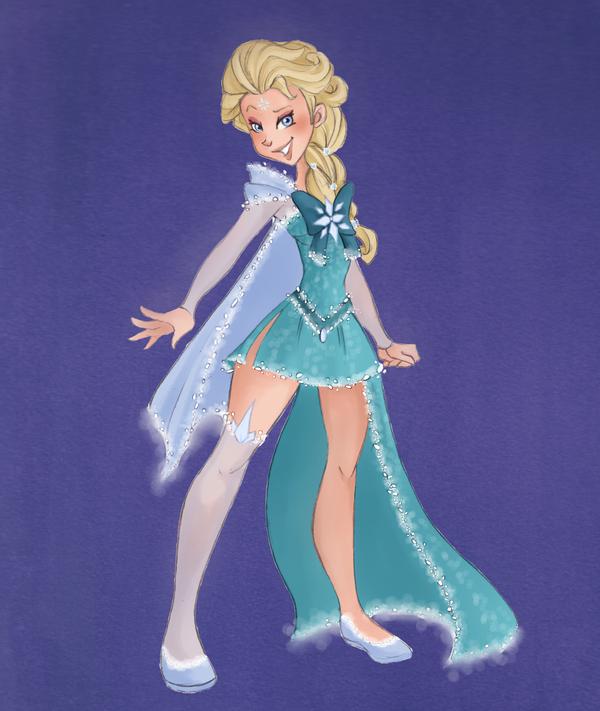Sailor Elsa by VioletKy on DeviantArt