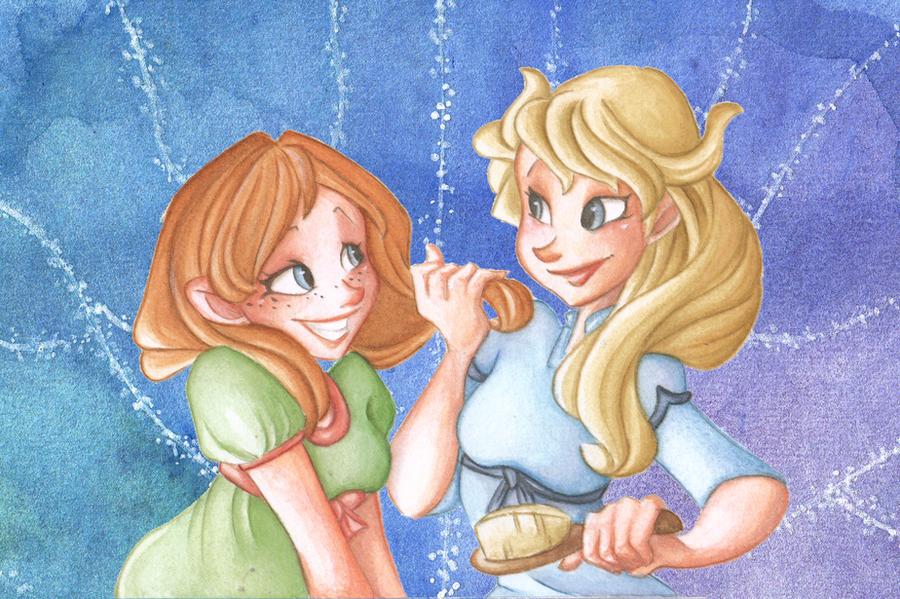 Like Sisters by VioletKy