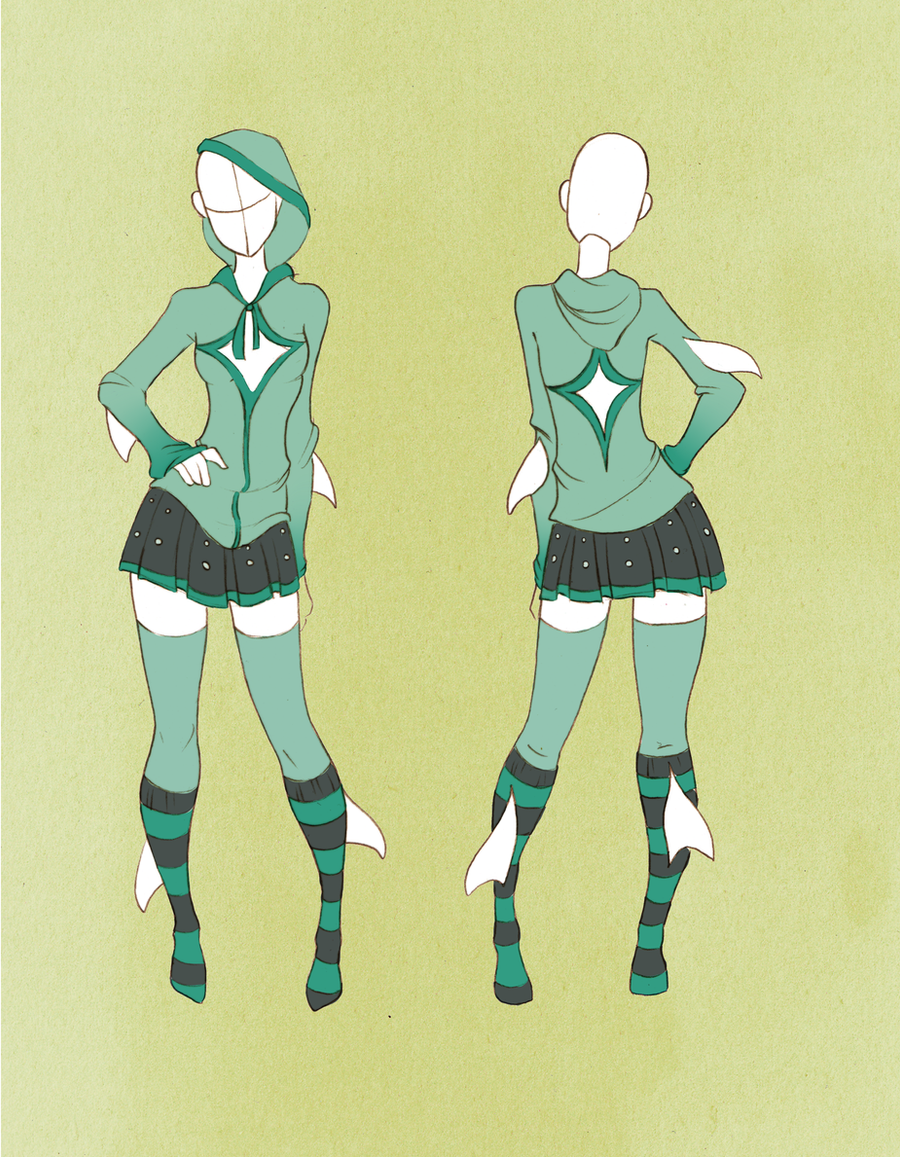 Commission Outfit April 06  By VioletKy On DeviantArt