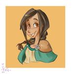 :: Birthday Wish: Mona :: by VioletKy