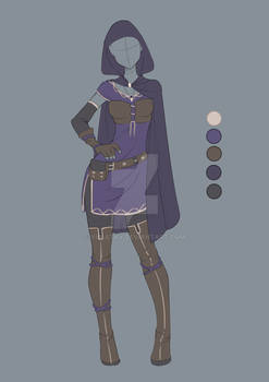 :: Commission April 07: Outfit design