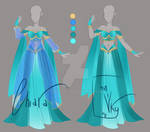 :: Adoptable Turquoise Outfit:  AUCTION CLOSED::