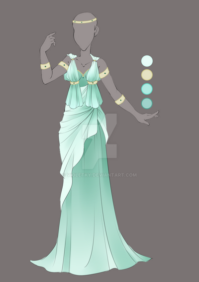 Commission August 05 Outfit Design By Violetky On