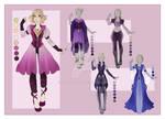 :: JEN Commission 01: Outfit Wardrobe ::