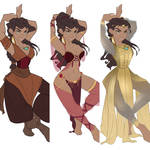 Nerissa The Dancing Blade by VioletKy