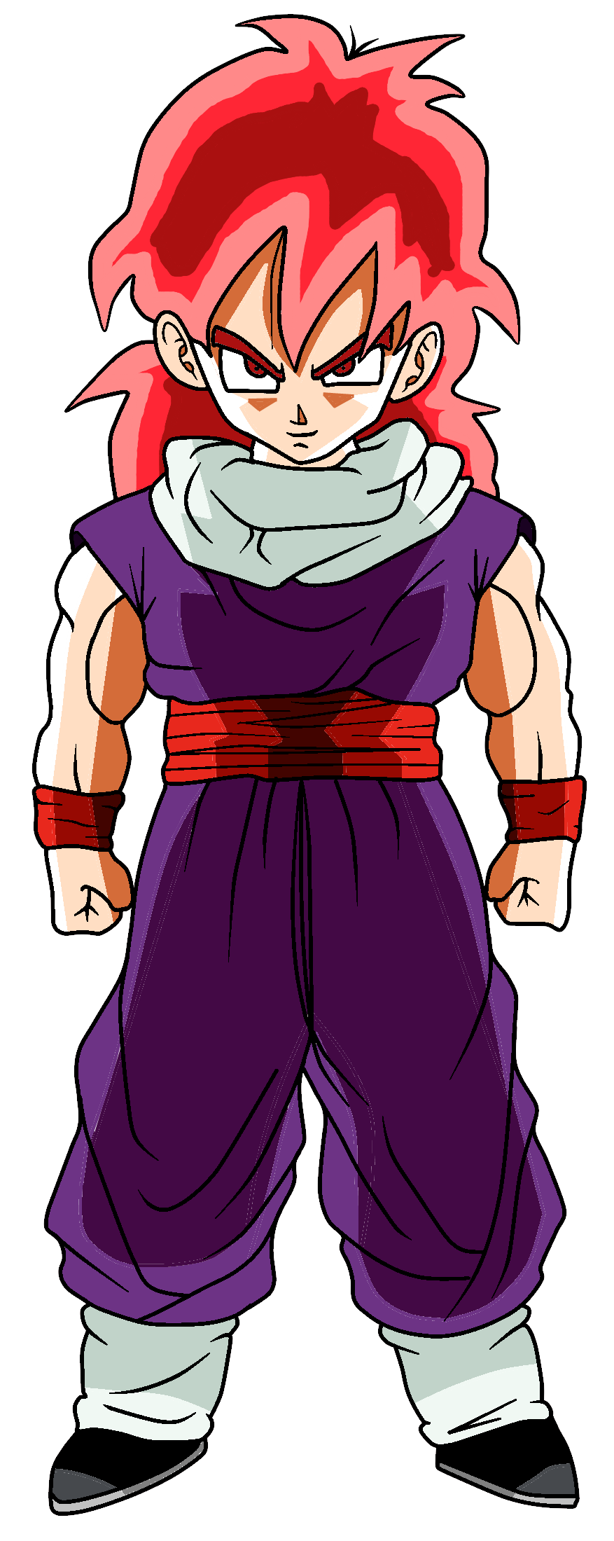 Super Saiyan God Gohan by RioluLucarioFan9000 on DeviantArt