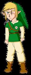 Link (The Legend of Zelda - Hyrule Revolution) by RioluLucarioFan9000