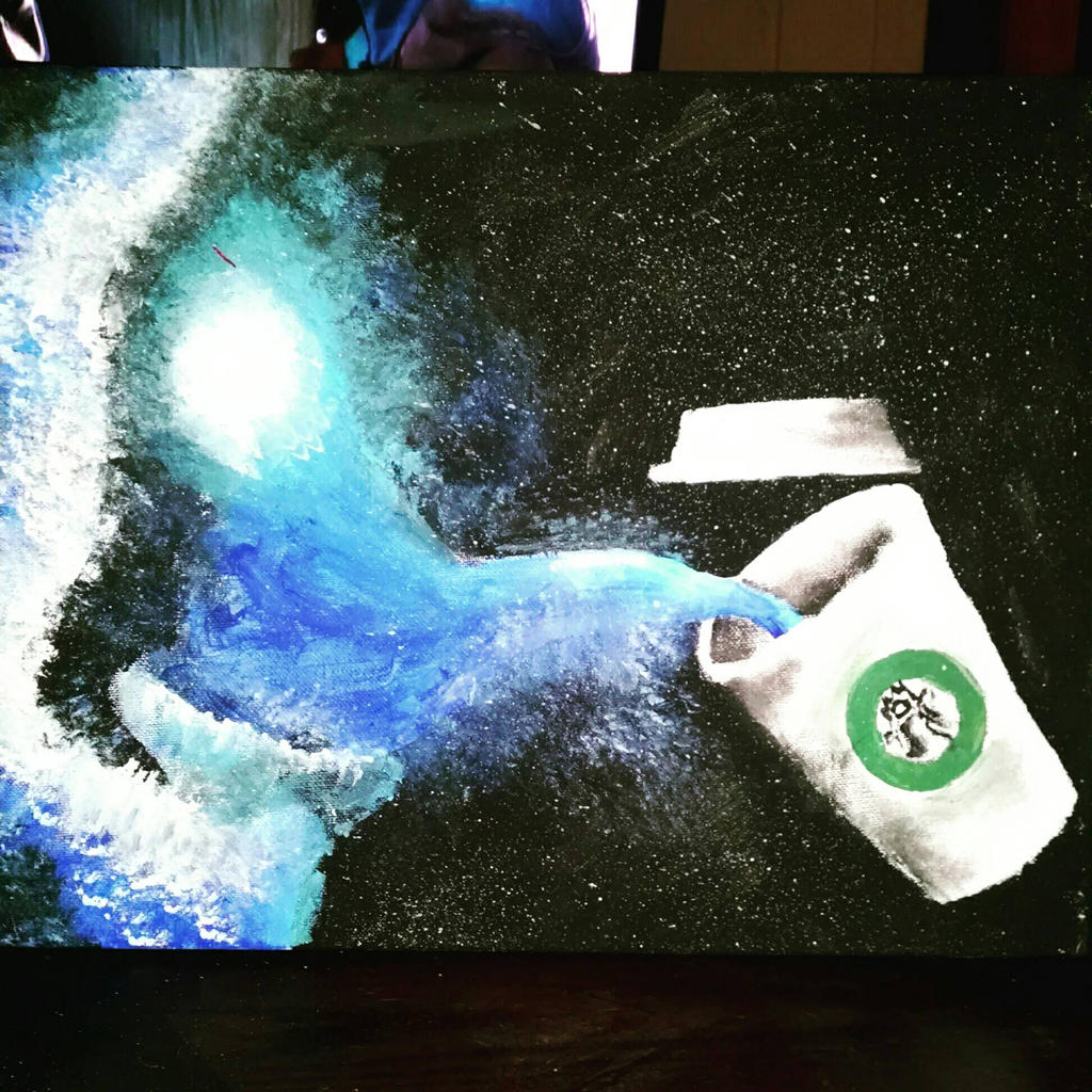 Galaxy Coffee  by BaileyM222