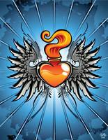 Sacred Heart by lebastard