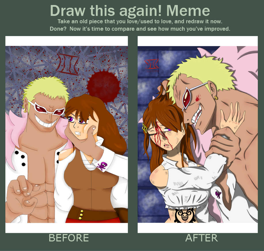 Draw this again - Messed Up by Misstykata