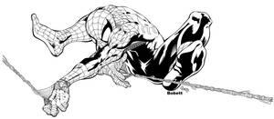 spiderman by bobett inked