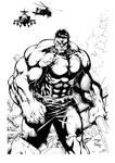 Hulk by DiegoBernard inked
