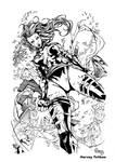 Psylocke by harveytolibao inks