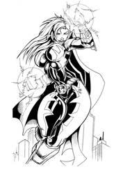 commission ryanodamonkey talazo by justart27 inked by gz12wk