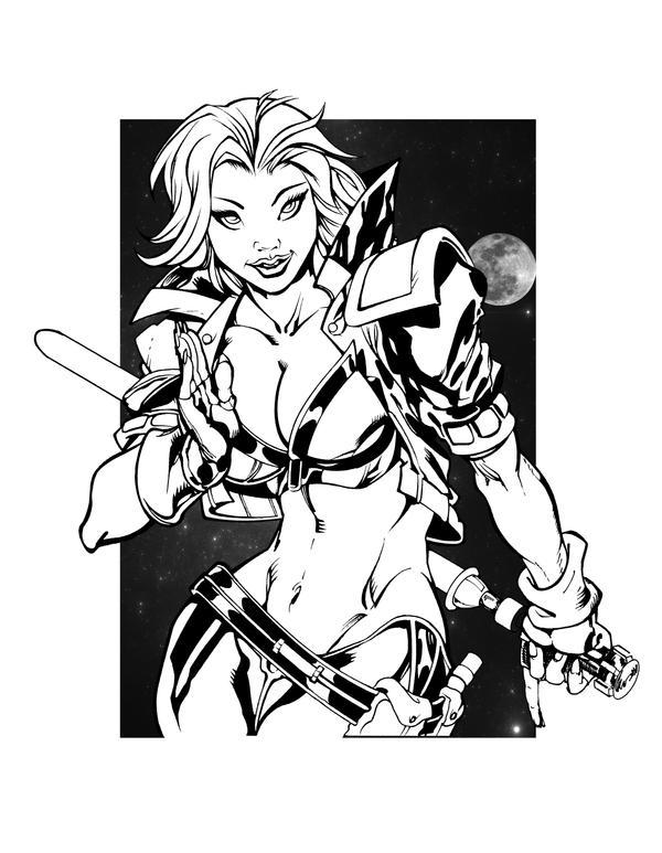 Tankette Sketch By Stalk Inked by gz12wk