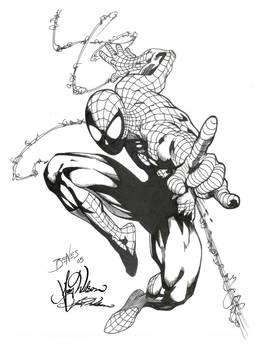 SpiderMan by edbenes inked
