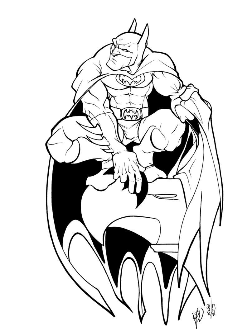 batman pencil by thenota inked by gz12wk on deviantart