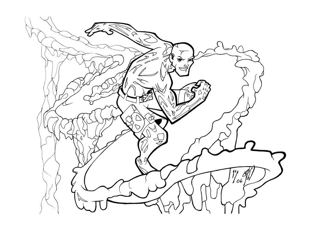 iceman commsih inked by gz12wk on deviantart
