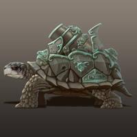 Turtle Tank by JeroenBackx