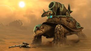 TurtleTank Scene II by JeroenBackx